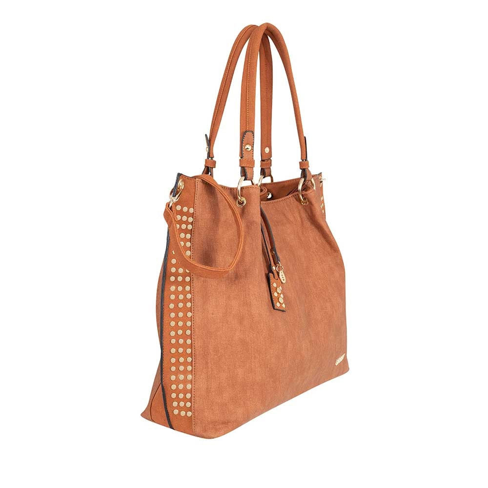 Cartera Moscow Ss20 Shoulder Bag Medium Brown Xl