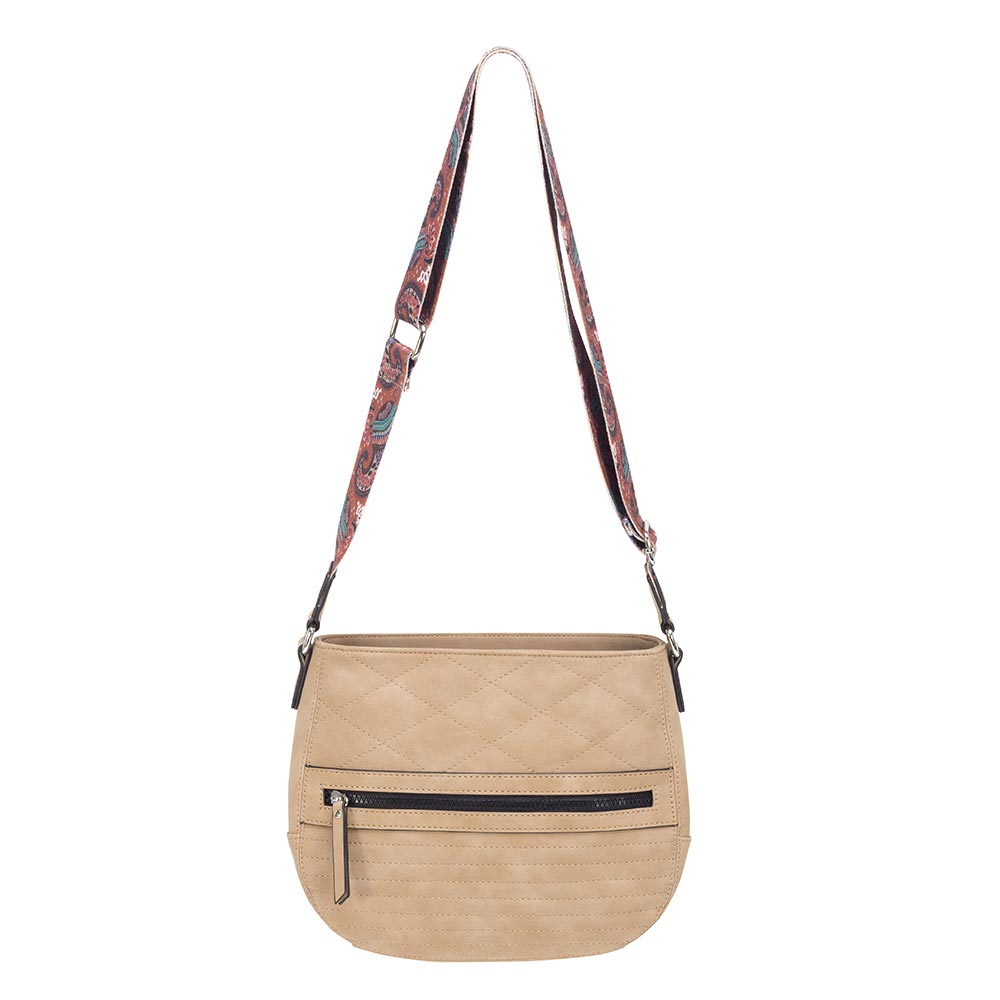 Cartera Siracusa Cross-Over Bag Natural M