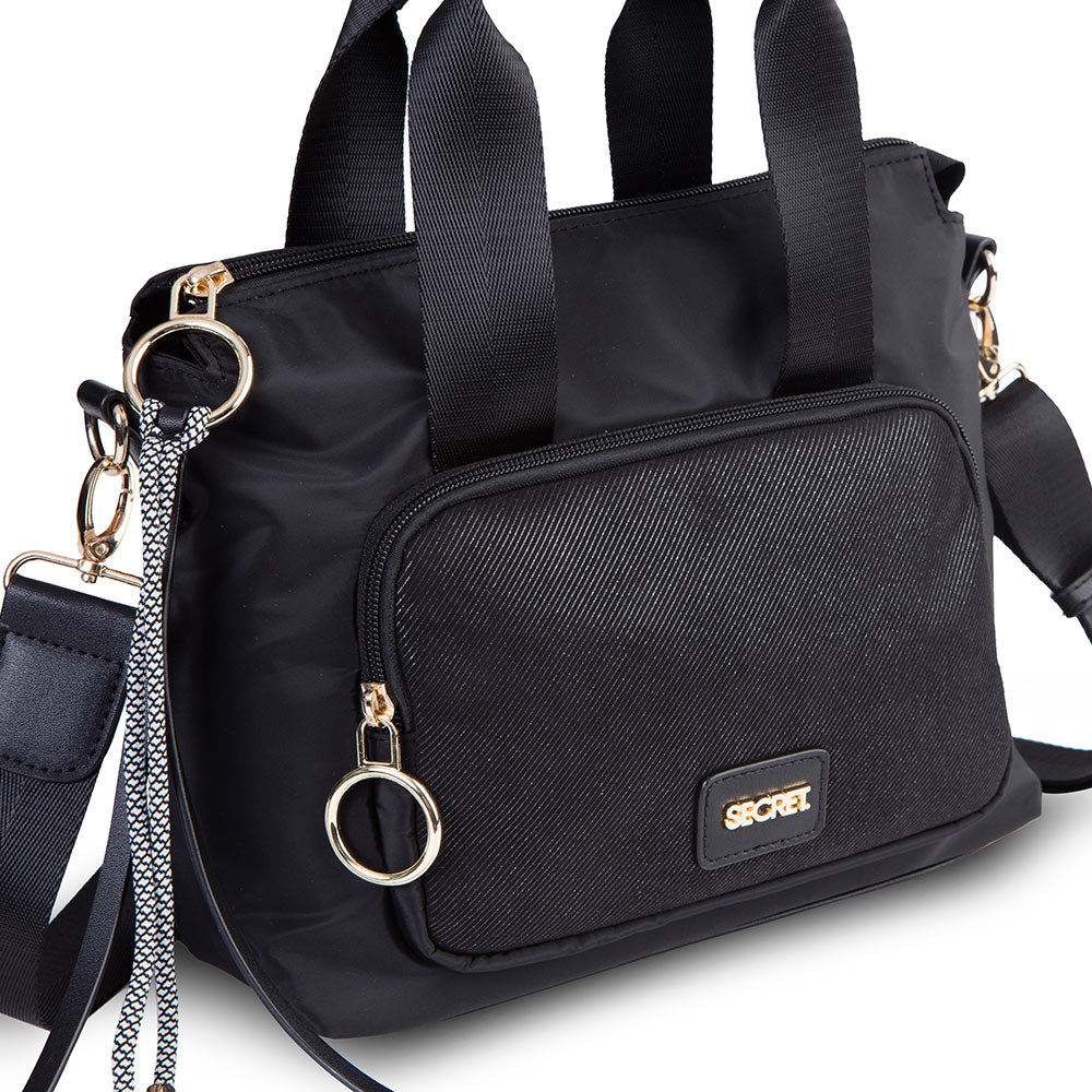 Cartera Windsor Satchel Bag Black S