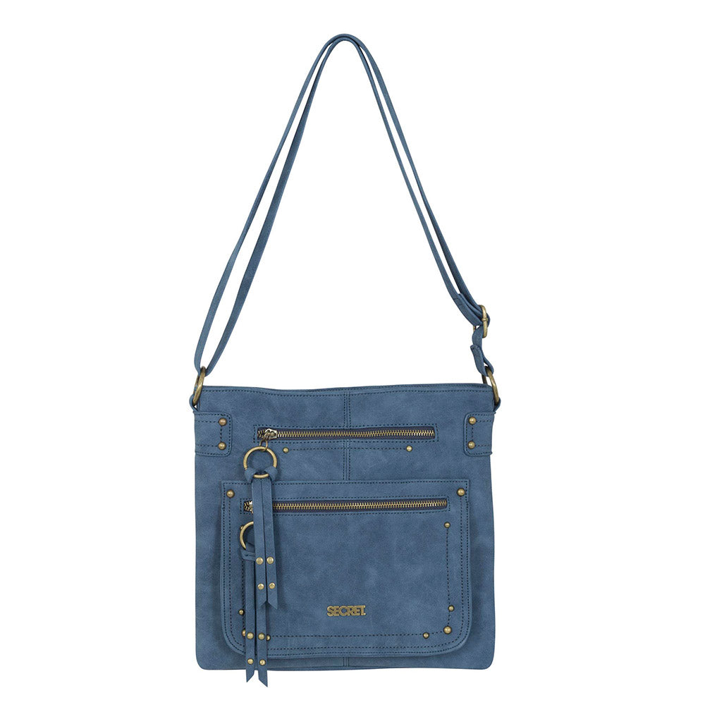 Cartera Ucrania Cross Bag Azul L