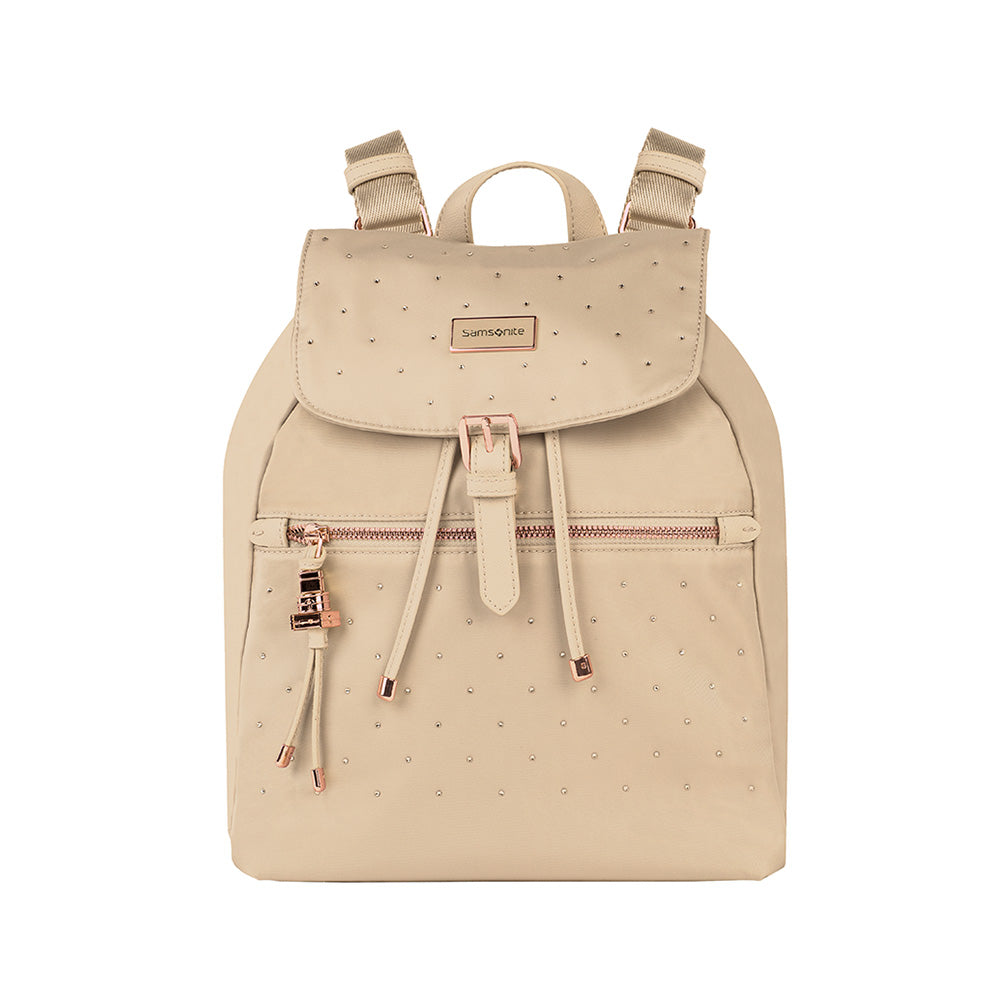 Mochila Karissa Backpack 1 Pocket Sw Rosa Claro