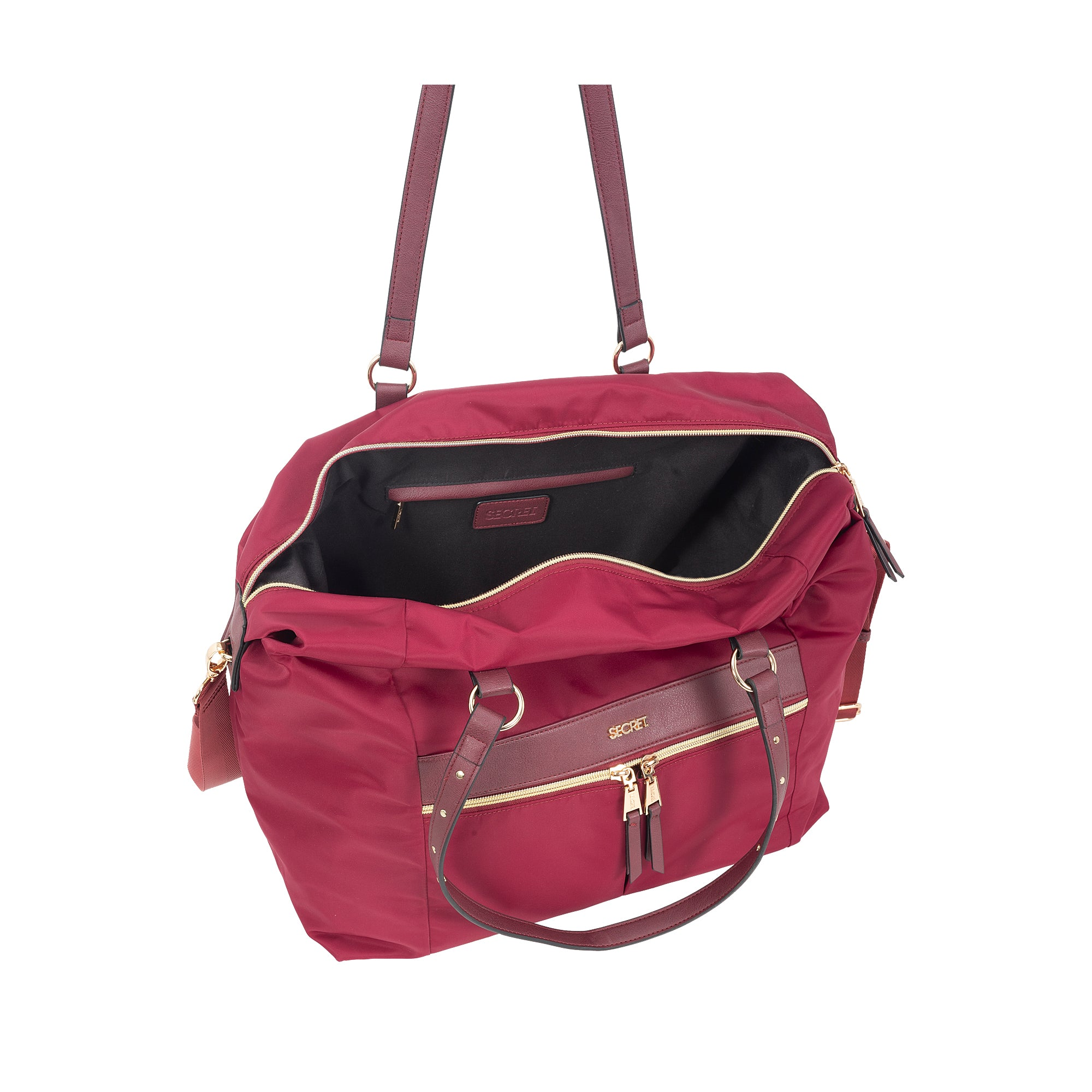 Bolso Barein Travel bag Burgundy L