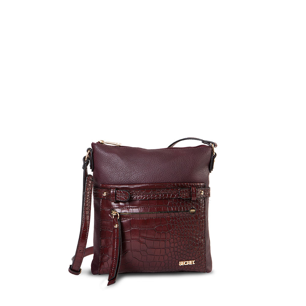 Cartera Malmo Fw20 Cross Bag Burgundy S