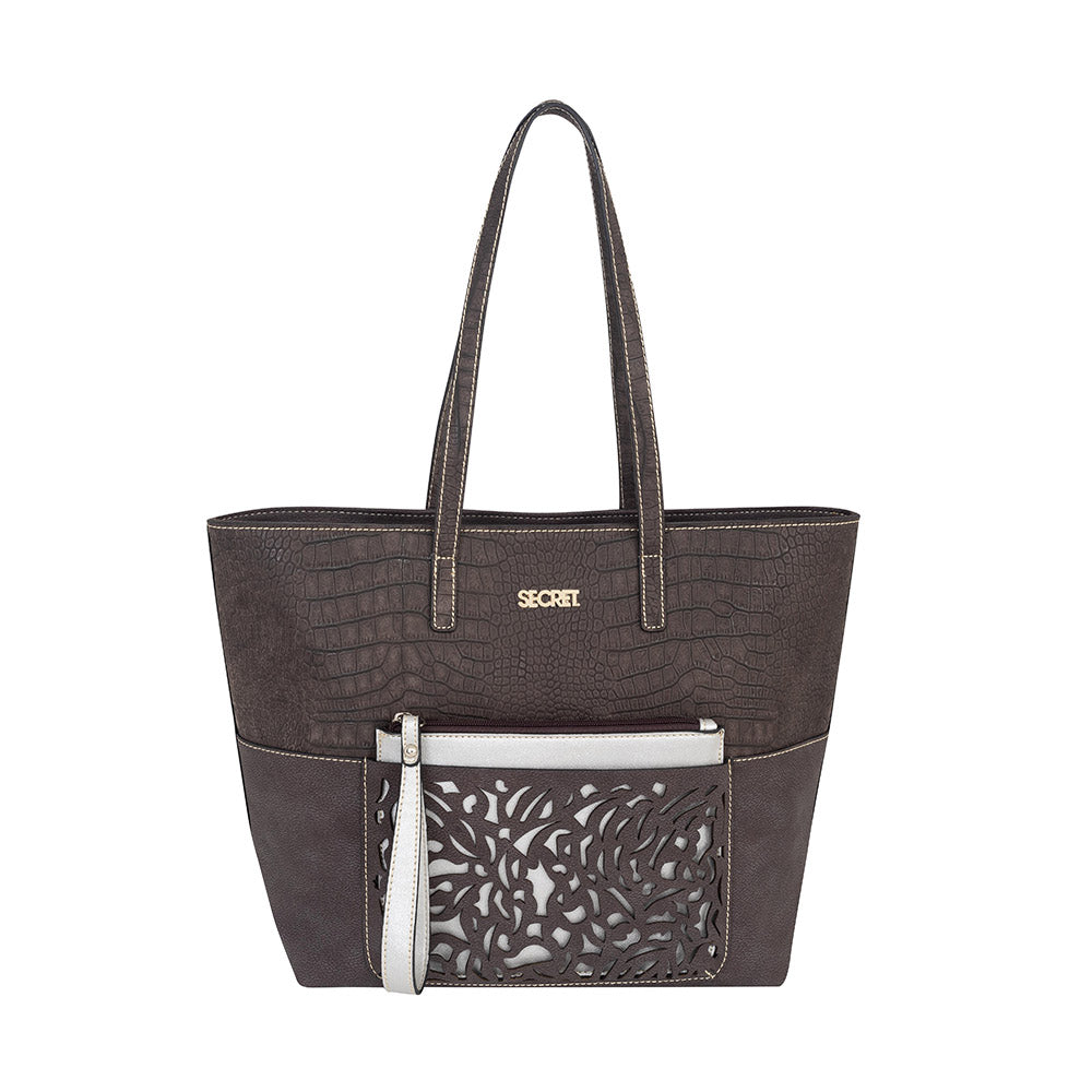 Cartera Sumatra Ss19 Tote Brown L