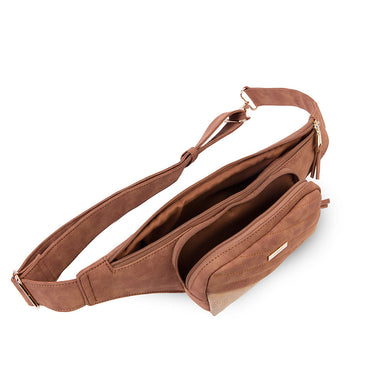 Banano Lerwick Fw20 Belt Bag Medium Brown L