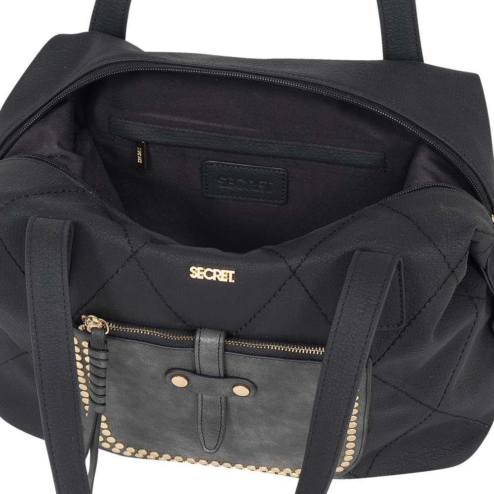 Cartera Singapore Ss20 Shoulder Bag Black L