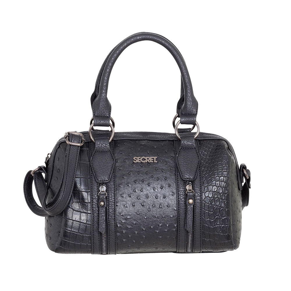 Cartera Senegal Satchel Bag Negro M