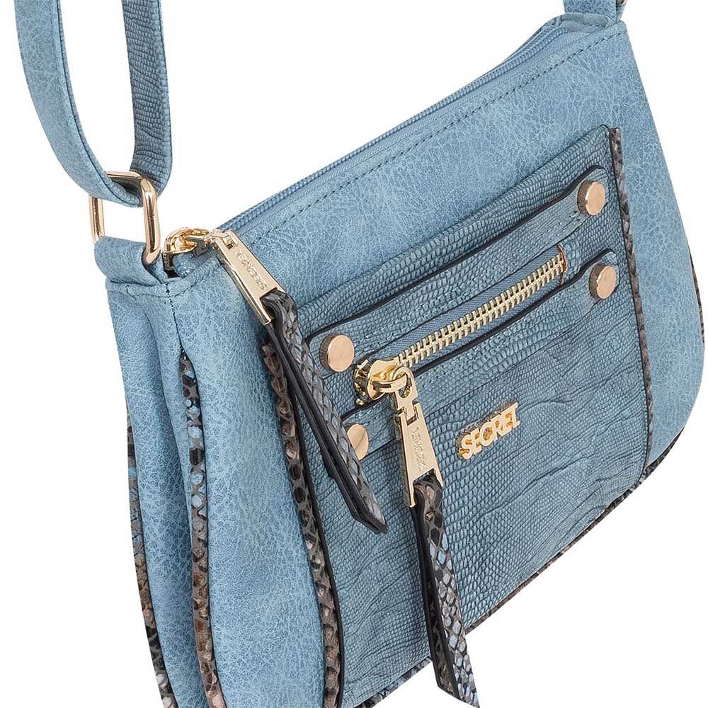 Cartera London Cross Bag Light Blue Xs