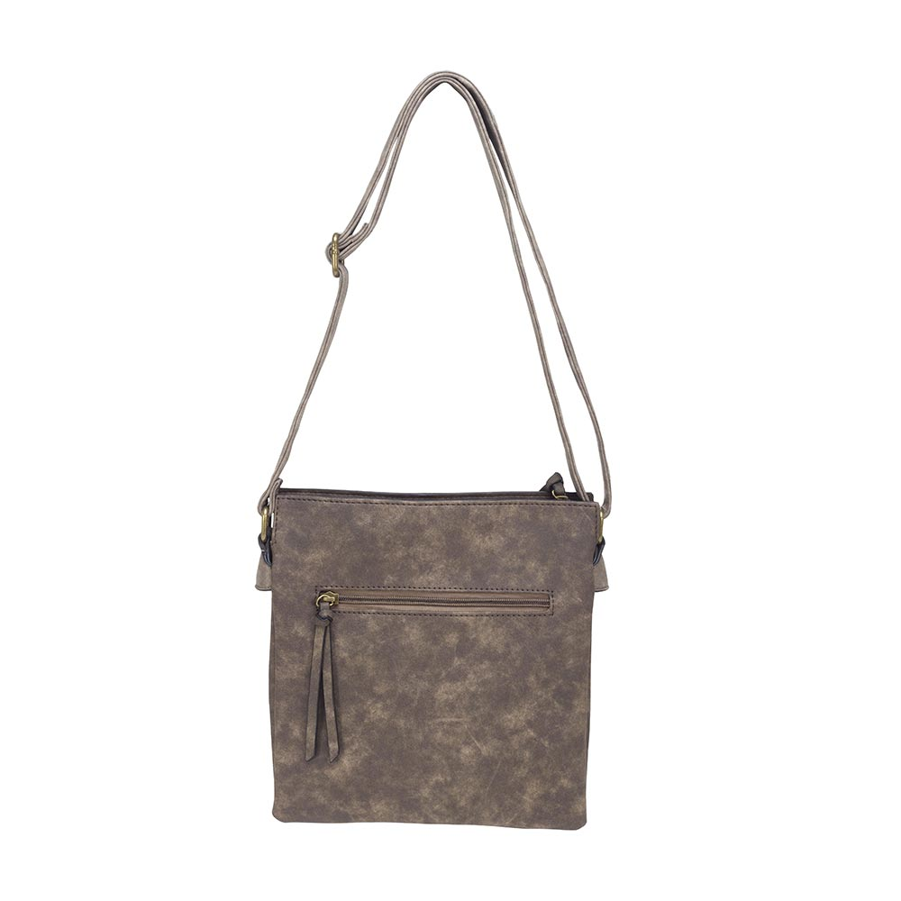 Cartera Yakarta Cross-Over Bag Café M