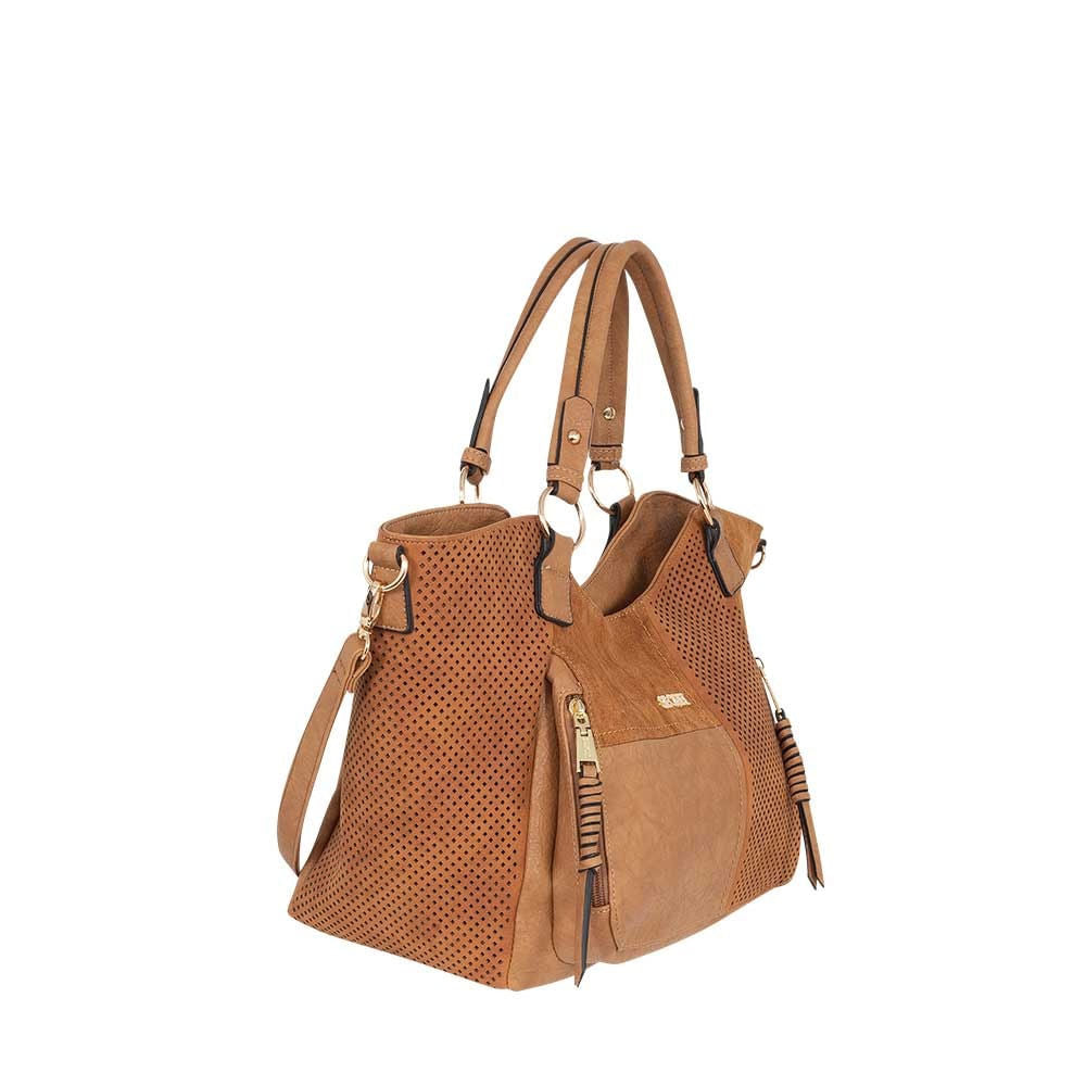 Cartera Lombok Ss20 Shoulder Bag Medium Brown L