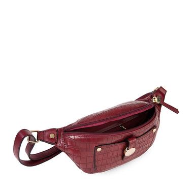 Banano Lisburn Fw20 Belt Bag Burgundy M
