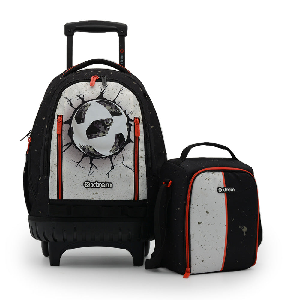 Pack Crosspack 198 Soccer Ball Black