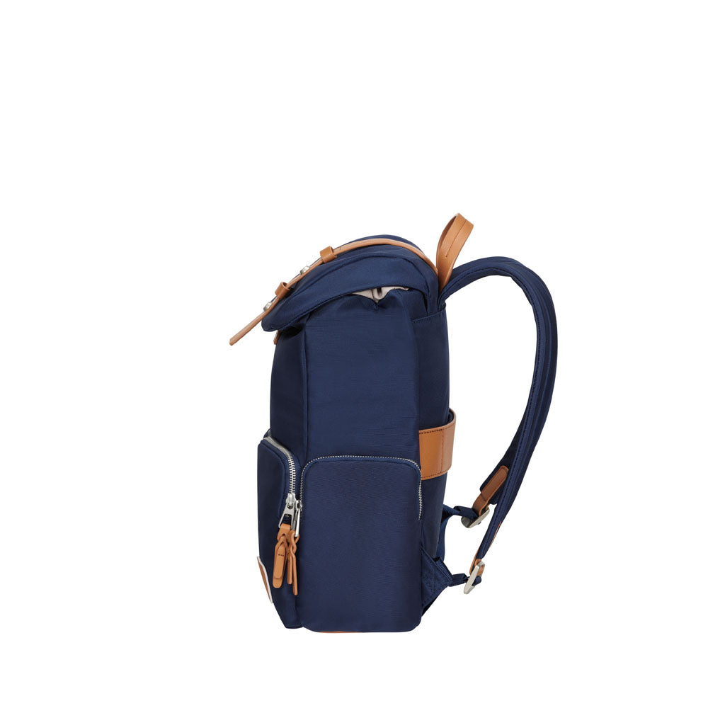 "Mochila Yourban Flap 14.1"" Midnight Blue"