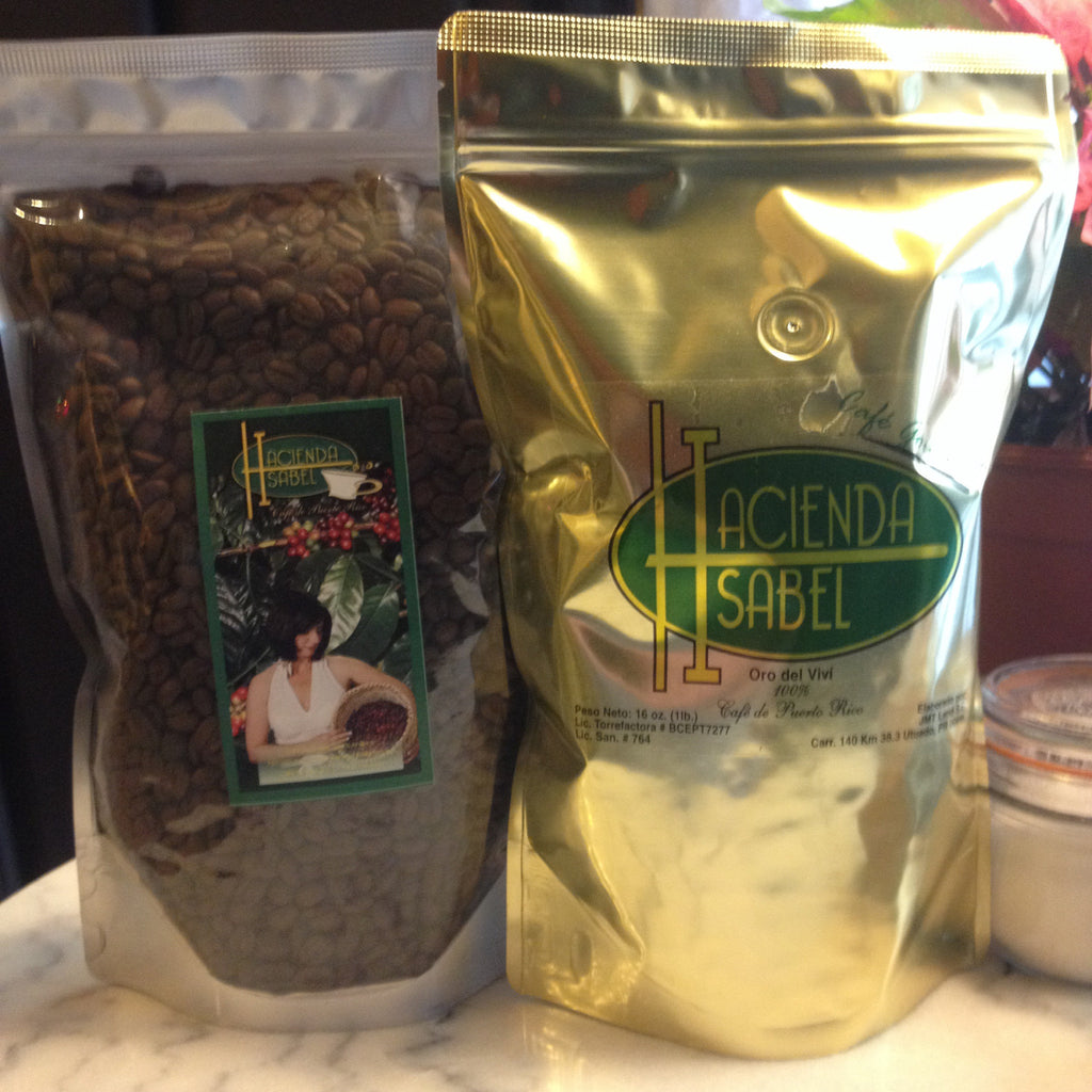3 x 10 oz Single-Origin 100% Arabica Coffee from the Hacienda Isabel in Puerto Rico