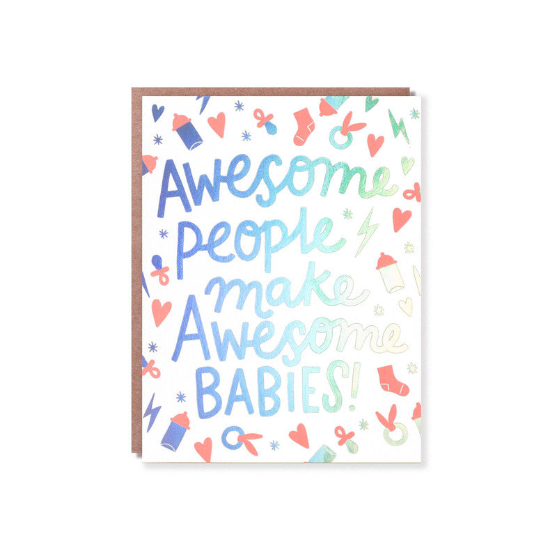 HELLO LUCKY - SINGLE CARD - AWESOME BABIES