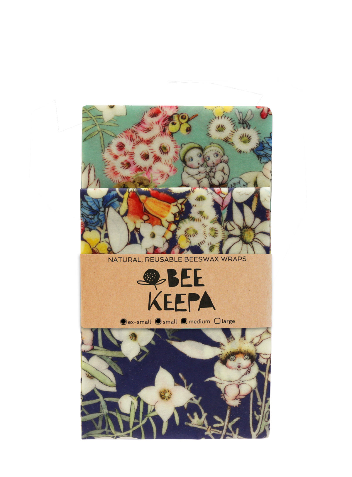 Beeswax Wrap 3 Pack - May Gibbs