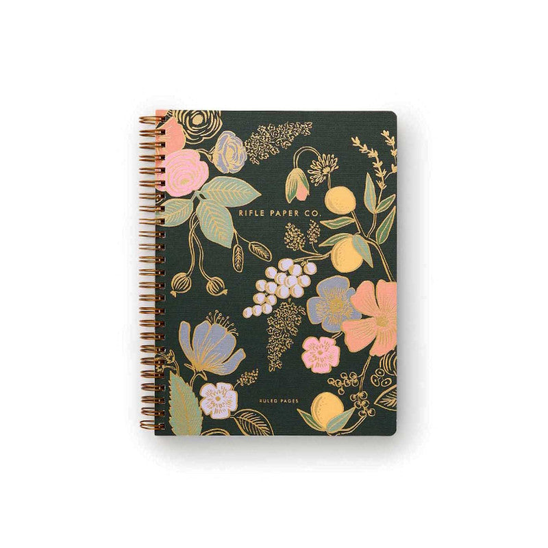 Rifle Paper Co - Spiral Notebook - Ruled - A5 - Colette