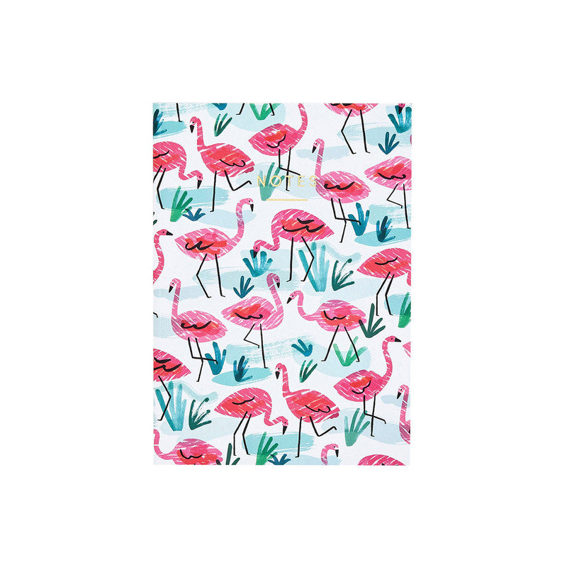 WRAP- Regular Notebook- Plain | Flamingo