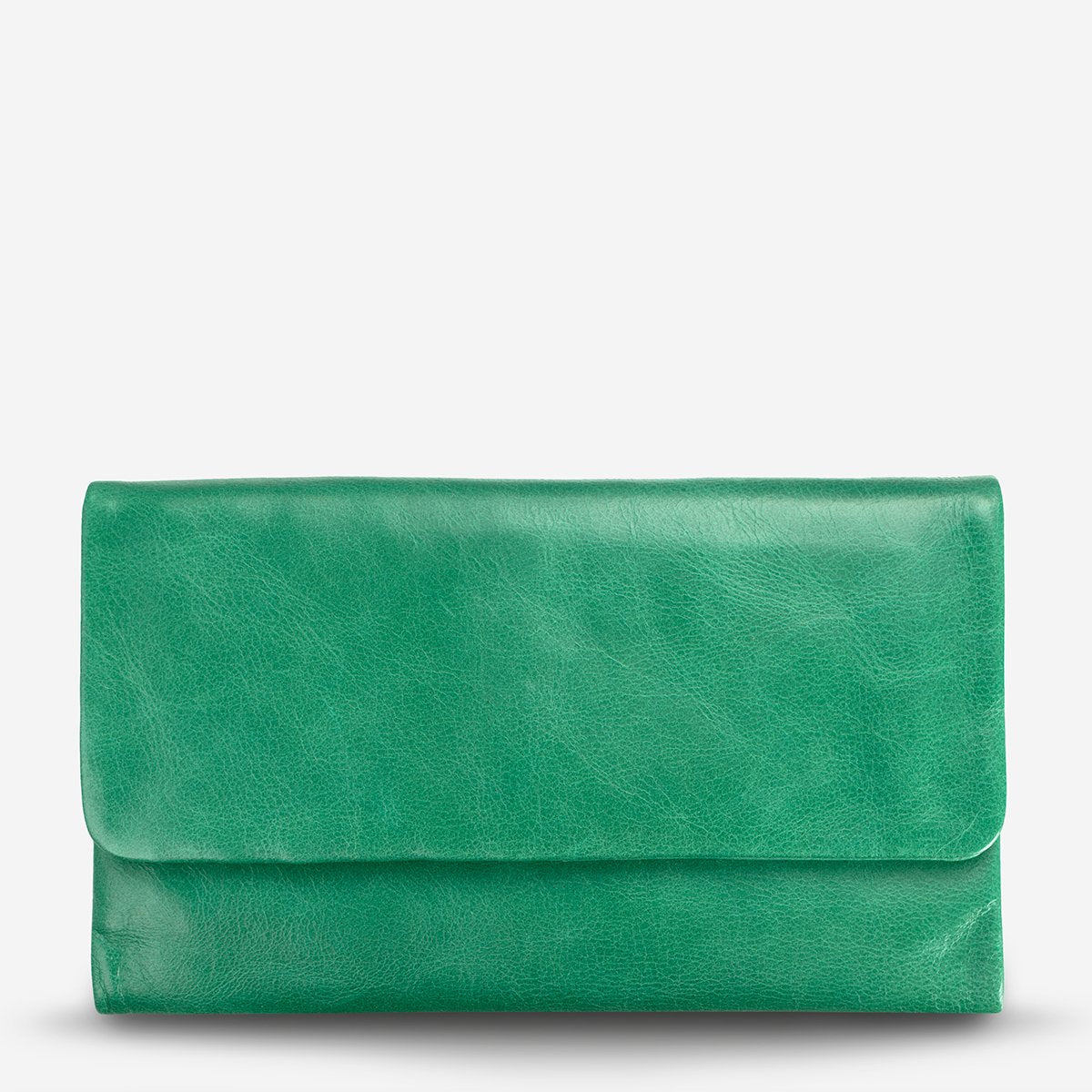 AUDREY WALLET- EMERALD // STATUS ANXIETY