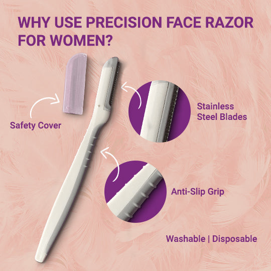 Why to use a Face Razor for Women