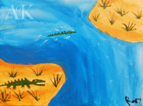 Croc River by Rory for Art of Kindness
