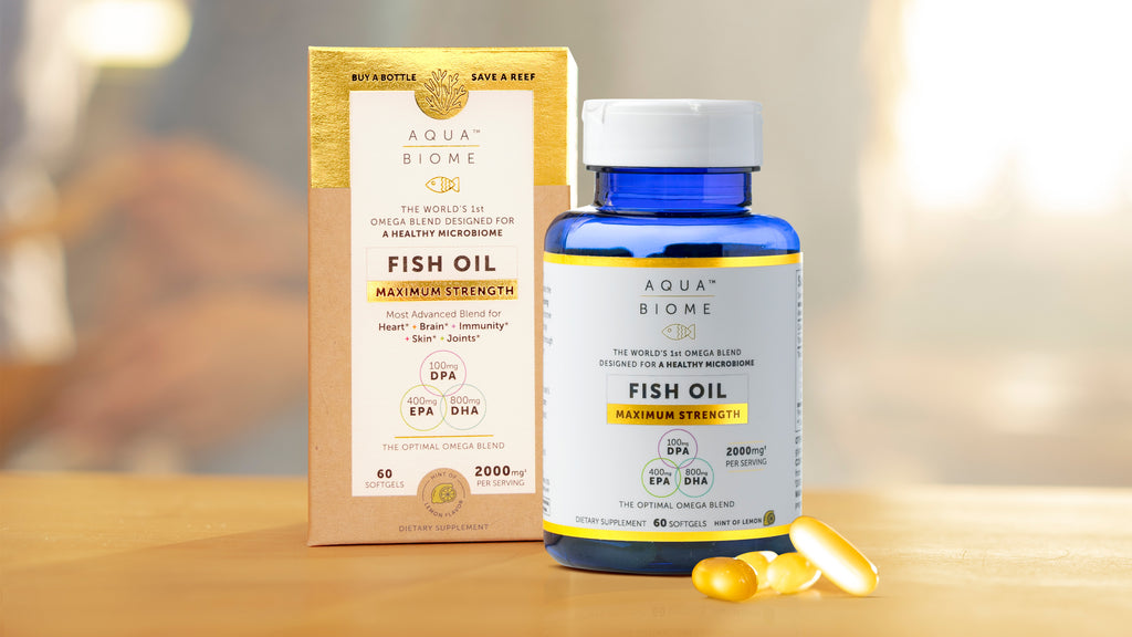 Aqua Biome Maximum Strength Fish Oil