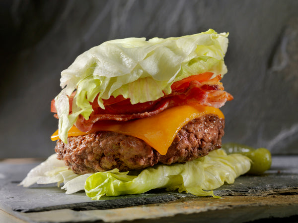 A burger that would go well with keto diet supplements