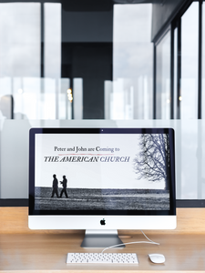 Peter and John are coming to the American Church / Digital Download