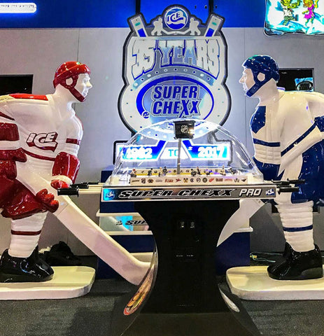 "Licensed Team USA ""USA vs Canada"" Edition Super Chexx PRO® Bubble Hockey Table"