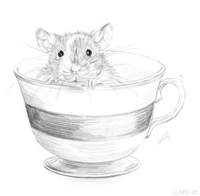 Load image into Gallery viewer, Mouse in Teacup