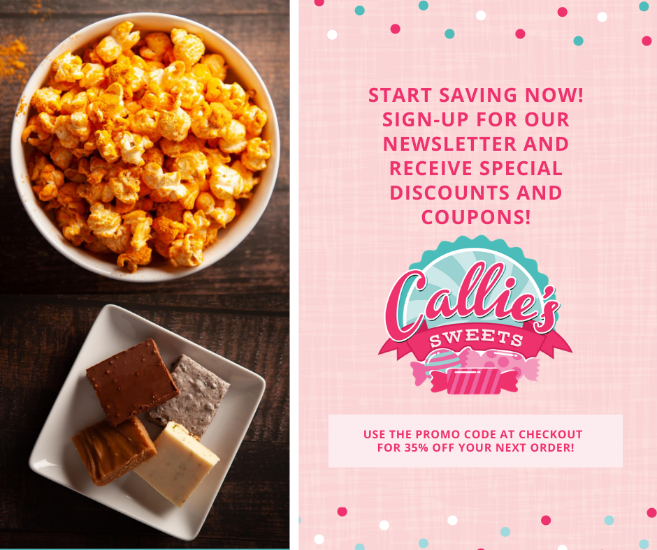 Save 35% on Callie's Sweets!