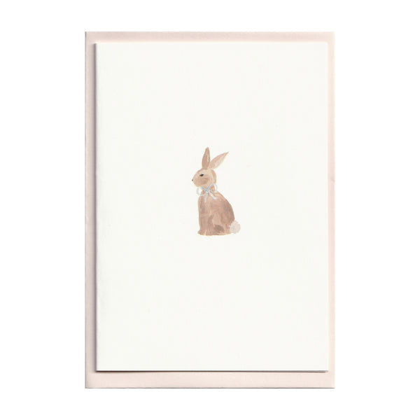 Set of 5 Bunny Rabbit Cards