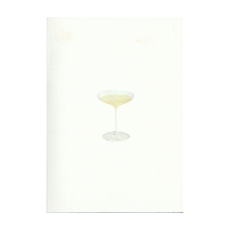 Pack of 5 Champagne Coupe Cards
