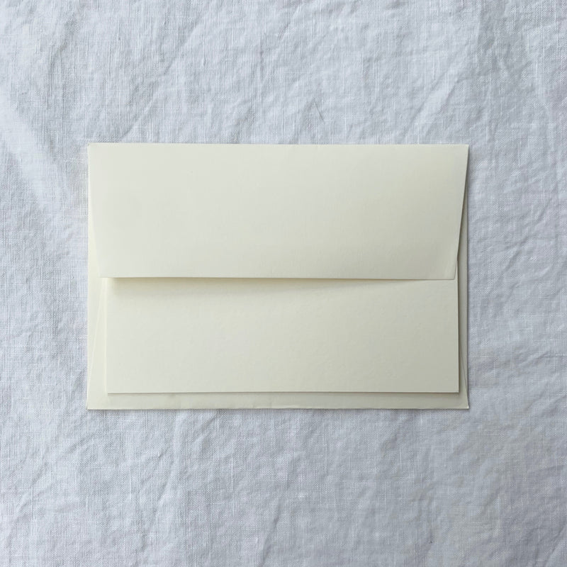 Plain Note Cards in Cotton