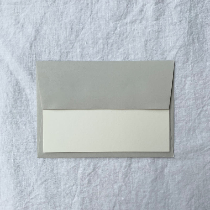 Personalised Note Cards in Cotton