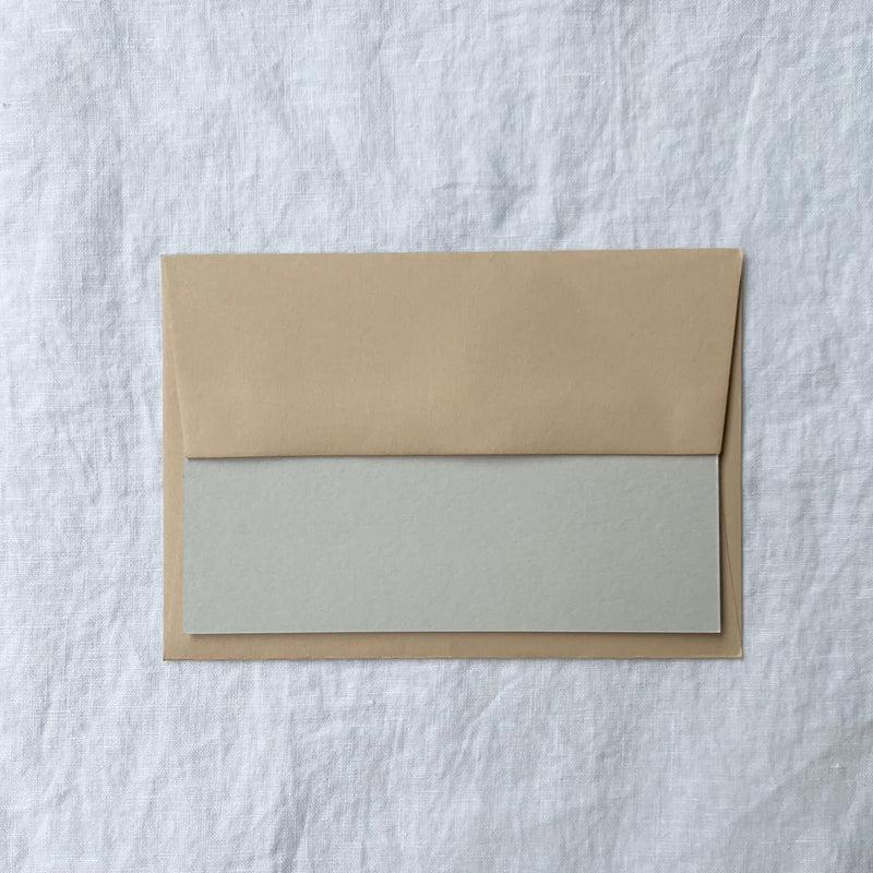 Plain Note Cards in Dove