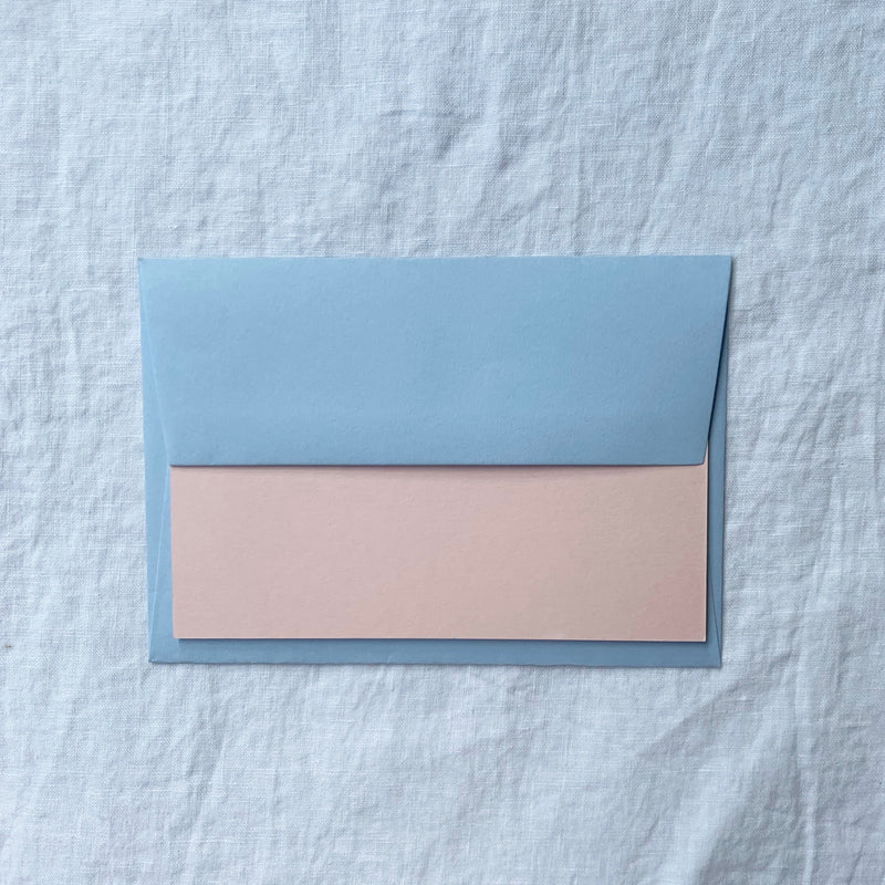 Plain Note Cards in Shell