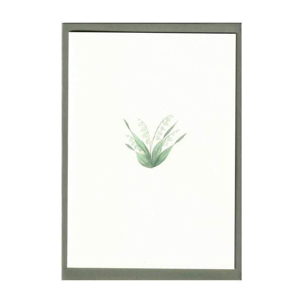 Pack of 5 Lily of the Valley Cards