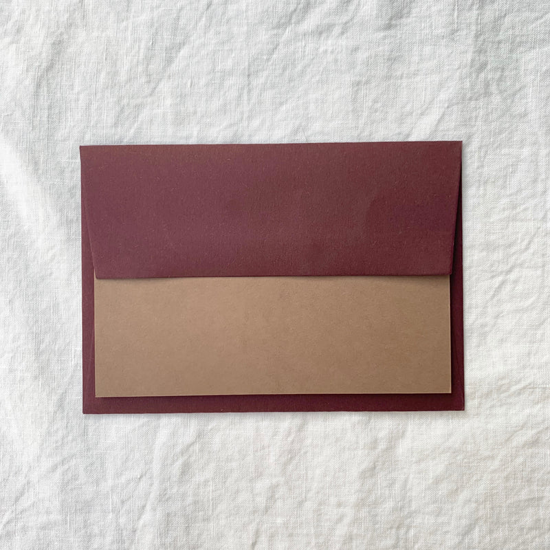 Plain Note Cards in Nubuck
