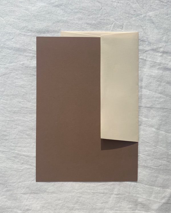 Personalised Writing Paper in Nubuck