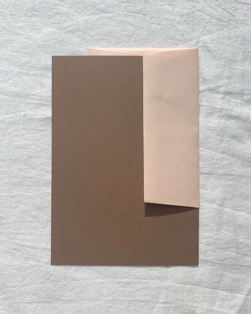 Plain Writing Paper in Nubuck