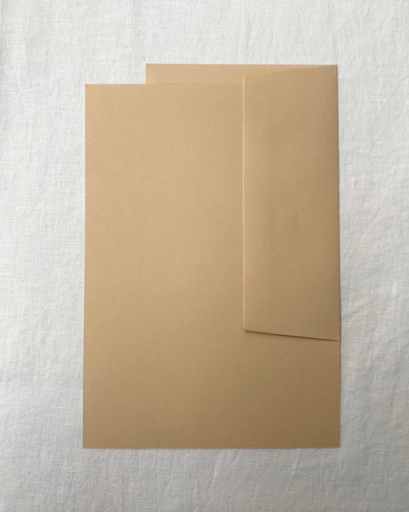Plain Writing Paper in Oat