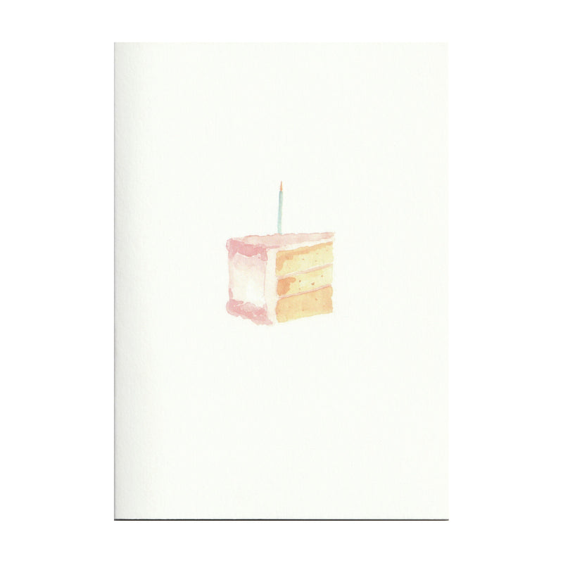 Pack of 5 Piece of Cake Cards