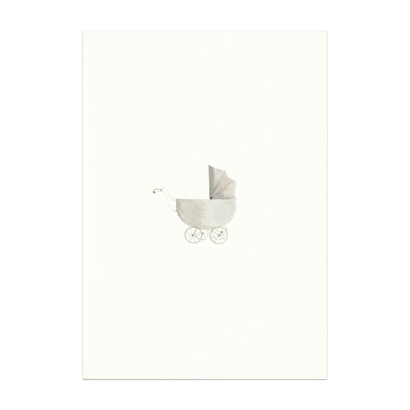 Pack of 5 Pram Cards