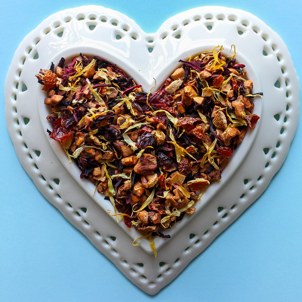 Strawberry Rosehip Fruit Tea Loose Leaf Tea