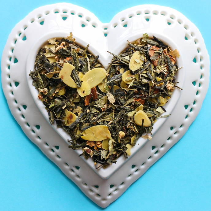 Toasted Almond Green Tea Loose Leaf Tea | Hamilton Ontario Burlington Ontario Canada