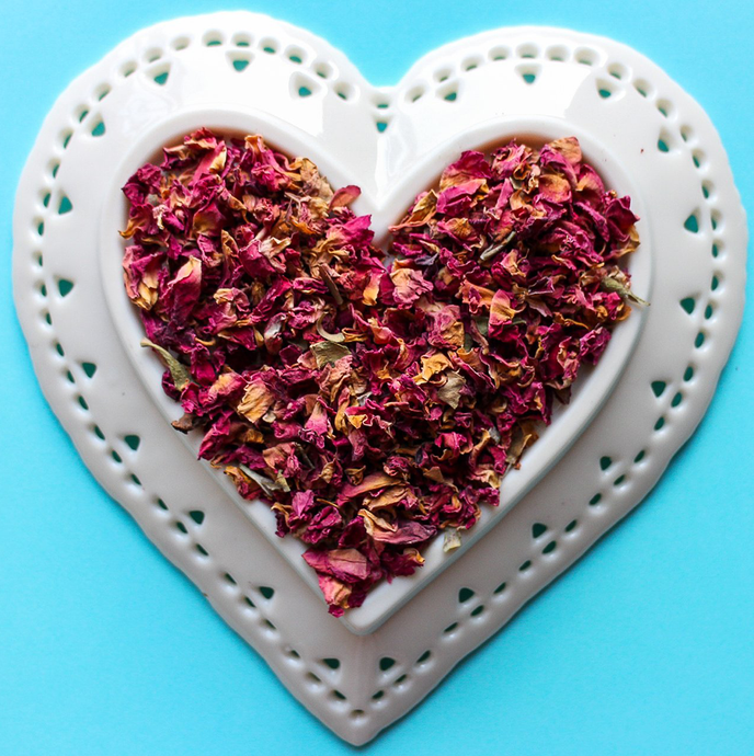 Tea Amo Rose Petal Herbal Tea | Loose Leaf Tea Hamilton Ontario Burlington Ontario Oakville, Afternoon Tea