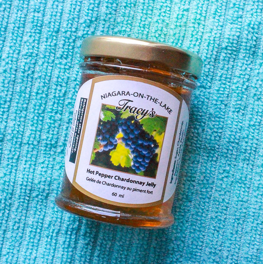 Hot Pepper Chardonnay Jelly