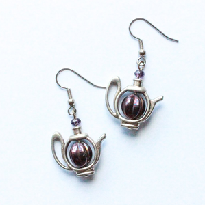 Teapot Shaped Earrings