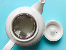 Load image into Gallery viewer, White 3 Cup Teapot with Infuser